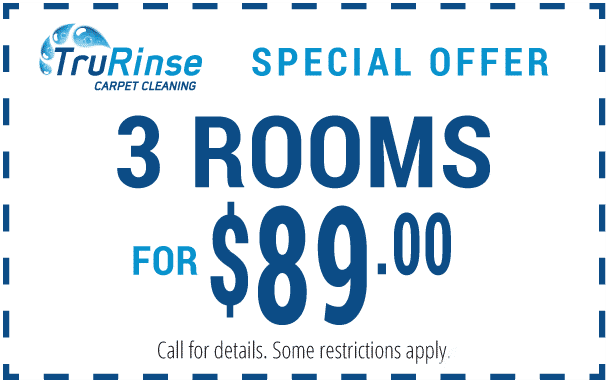 TruRinse Special Offer Coupon - 3 Rooms For $89