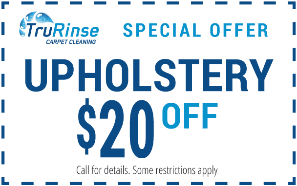 TruRinse Special Offer Coupon - Upholstery $20 off