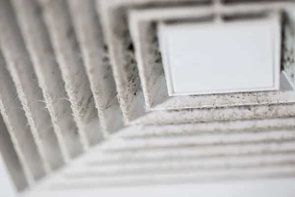 Air vent that shows the need of air duct cleaning services