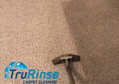 TruRinse Carpet Cleaning - In the middle of pulling dirty from this carpet