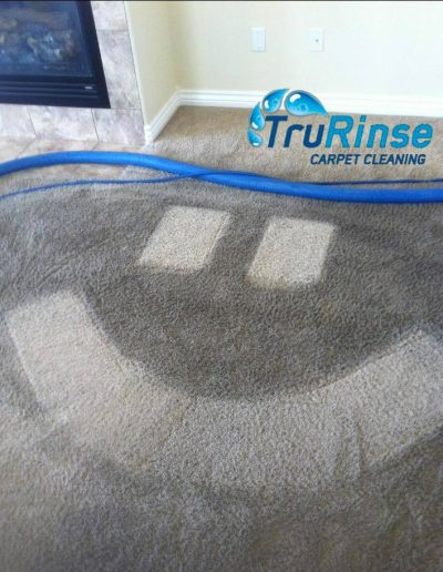TruRinse Carpet Cleaning - Making yet another carpet and customer happy