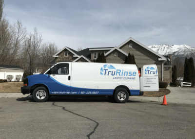 TruRinse Carpet Cleaning Van